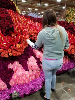 Rotary Club helping out at the 2018 Tournament of Roses Parade