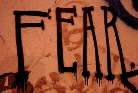 word fear