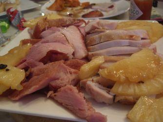 Sweet Thanksgiving Ham